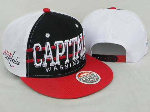 Washington Capitals NHL Snapback Zephyr Hat DD10